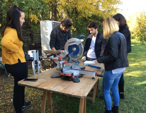 Workshop de upcycling